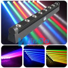 WG-G2019 led stage moving beam light / rotation bar 8*10W/ LED stage lihgts