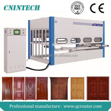 2015 New type Jinan Qichen 5 axis automatic wooden door spray painting machine/paint spraying machine/painting machine QCPM2500D