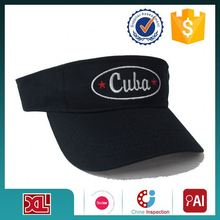 FACTORY DIRECTLY!! all kinds of embroidery logo sun visor cap wholesale fast shipping