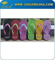 Bulk Price EVA Flip Flops Custom Slippers