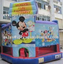 mickey mouse inflatable bounce house or inflatable bouncy castle sp-pp051