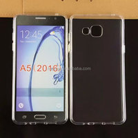 New products ultra thin transparent clear gel tpu case for samsung galaxy a5 2016 factory price