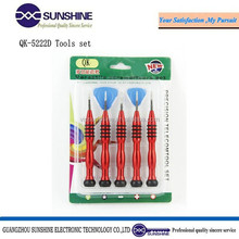Quick5222-D precision screwdrivers mobile phone repairing tools for iphone sumsung