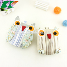 2015 The owl Cotton and linen door stop adorn Creative home Soft act the role ofing prevent wind door stop furnishing articles