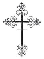 100% Handmade Large Metal Wall Christian Cross