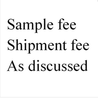 sample fee for backpack and handbags