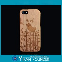 cheap wholesales engraved wood smart phone cases, wood mobile phone case, wood phone accessories for iphone 5