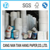 TIAN HANG high quality grade aa double pe coated paper for cups