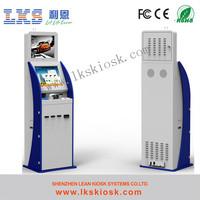Computer Bill Payment Machine Water Proof Kiosk