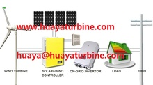 HOT!5KW wind power 3kw solar hybrid power generator, home wind solar hybrid power system 8kw