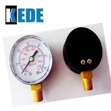 plastic case pressure gauge with high pressure level