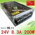 china 220v 24v salida dc fuente de alimentación