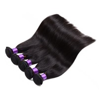 """8""""-30"""" in Stock Wholesale Remy Hair Products 100% Brazilian Straight Vigin Hair Vendors PayPal Accept"""