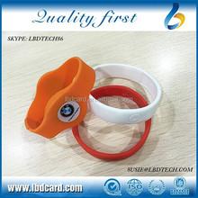 Free Samples Sillicone T5577 26bit/36bit/37bit RFID Wristband/Bracelet for Swimming Pool