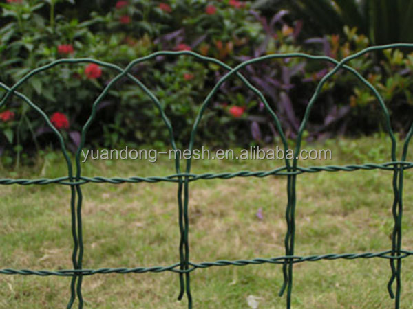 Plastic Coated Border Green Garden Wire Mesh Fence Buy Coated Border Green