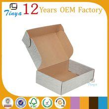 Corrugated paper custom plain shoe box