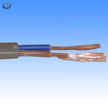 H03vvh2-f european 2*0.75mm2 copper conductor low voltage home appliance flexible power cords
