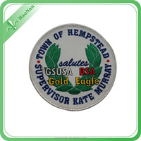 Top sell high quality handmade embroidery badge