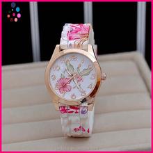 watch chain Rural wind restoring ancient ways pattern silicone watch