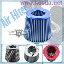 De alta calidad auto 3'' filtros de aire