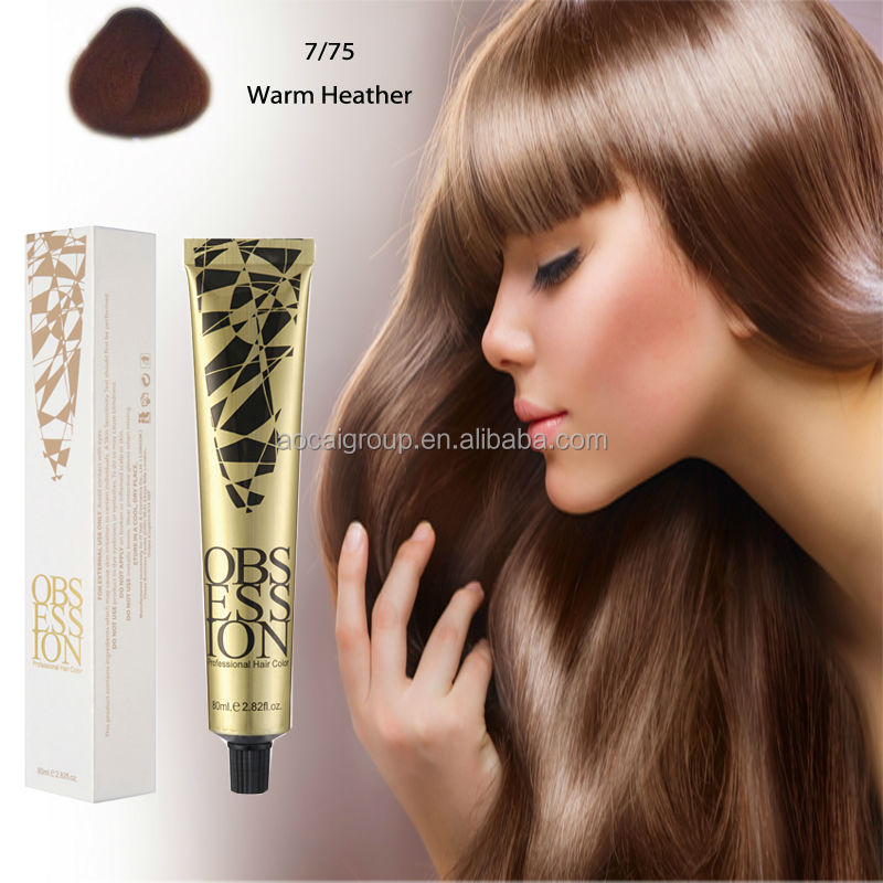 Hair Cosmetic Professional Permanent Hair Dye Color Colour Moq 1