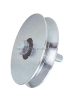"GREATWALL 3"" V Groove Wheel NO BRACKET for Gates Inverted V Track Wheel for sliding,Rolling,Slide, Driveway gates"