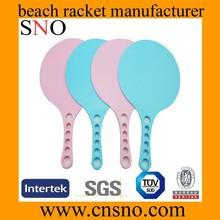 33Cm racket with balls cheap plastic beach racket