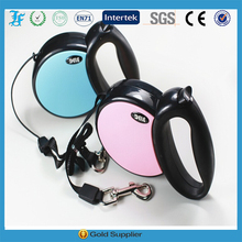 2015 New design large retractable pet dog leash with 5m tape for dog up to 40kg provided by professional pet leash factory