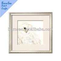 polar bear artist customized printing wooden photo framed art painting