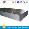 galvanized sheet steel corrugated specification