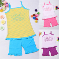 Wholesale fashion printed 100% cotton girls kids t shirt