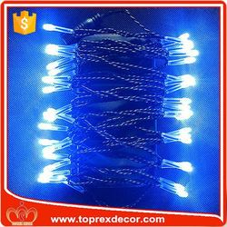 IP68 PVC Copper wire led christmas string lights outdoor