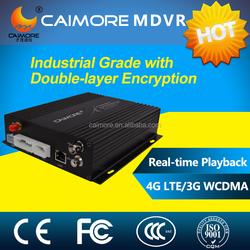 CM510-62W G-sensor Mobile 4CH MDVR with 3G GPS function add 4 mini Camera
