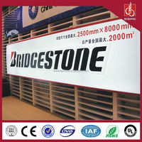 acrylic board led signboard for advertising