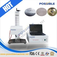 China supplier Jinan Possible series fot peen car number plate marking machine