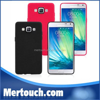 Hot Factory Sale Ultrathin Soft Glossy skin touch cellphone Back Cover Red TPU case for Samsung Galaxy A5