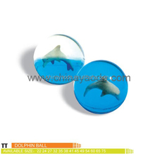 dolphin 45mm rubber bouncing ball