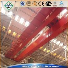 Low price workshop 5 ton 15ton double girder overhead crane