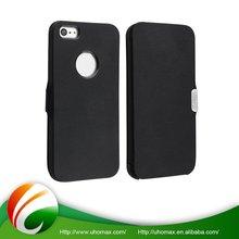 Excellent Quality Custom Fit Leather Belt Clip Flip Wallet Case For Iphone 5