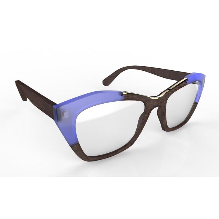 Best Wood Frame Glasses : Wood Eyeglasses Frame Ready Made Reading Glasses Top ...