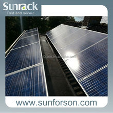 ground and roof mounting , 200kw solar panel system