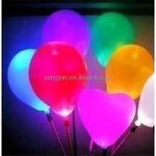 small flying flash helium LED balloon with light inside wholesale/ led ballon balloons
