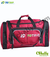 Red large 600D sky travel carry bag