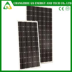 Grade A solar cell with high efficiency 100 watt solar panel