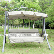 Hot selling outdoor 3 seater swing seat, hanging swings, patio furniture sale