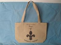 2014 promotional fashion cheap jute shopping bag wholesale