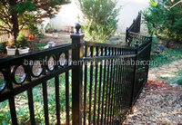 High quality galvanized the terrain of iron fence (Hebei)