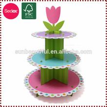 Cumpleaños central soporte de la torta para el bebé favores de la ducha