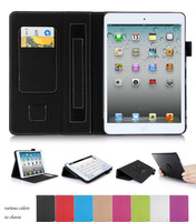 Multi-function and Angel Case for iPad mini 2 with Card Slot and Hand Strap
