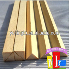 Construction timber fillets/ triangle wood strips/ chamfer strips